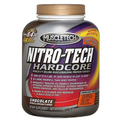 Ultimate suplementos alimentares nitro tech hardcore muscletech - Nitro tech hardcore pro series ...