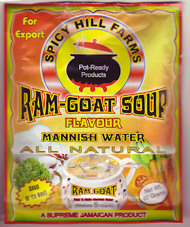 Ram Goat Soup Packet, front