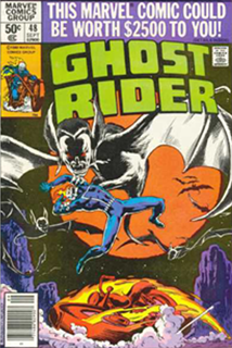 Ghostrider #48 by Bob McLeod