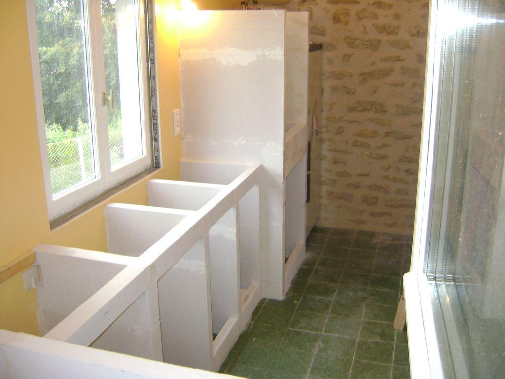 Le blog de la famille chanussot novembre 2010 for Cuisine en beton cellulaire
