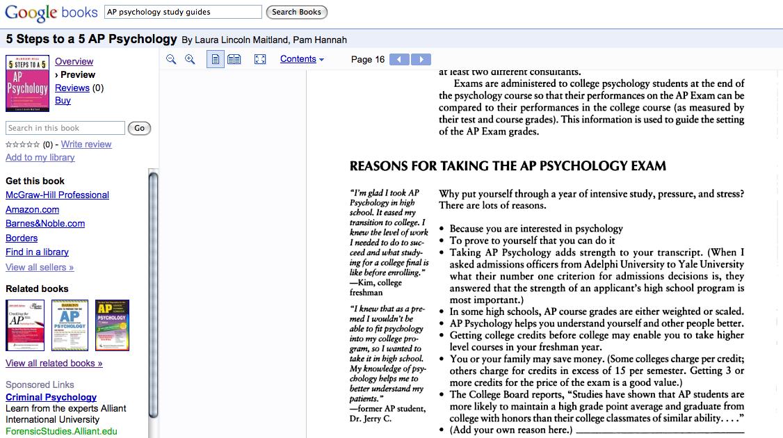 AP Psychology: Exam Prep Course - study.com