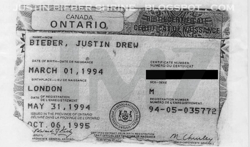 justin bieber's date of birth (red) iPhone & iPod Case by The Bieber ...