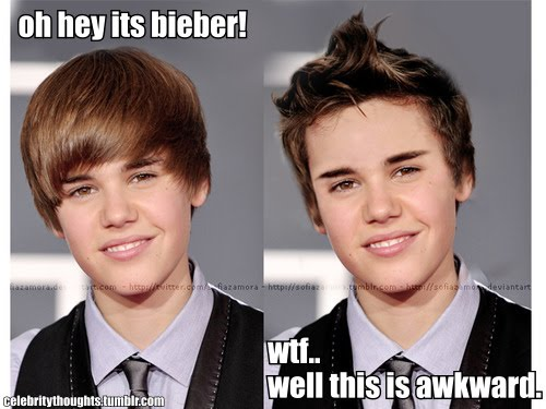 justin bieber new haircut 2011 pictures