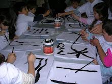 """Taller """"pintando descubrimos nuevos caminos"""" en el Centro Cultural Recoleta."""