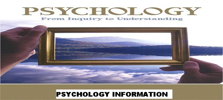 psychology information