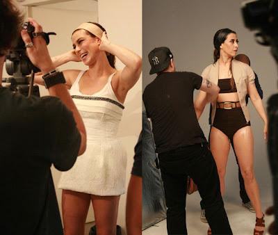 Maria Paula e Fernanda Torres também encararam as lentes para ...