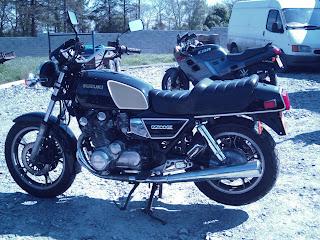 Motorcycle passtimes suzuki gs 1100 gk 1980