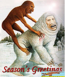 Is it? Holiday-greetings-funny-christmas-card-monkey-yeti
