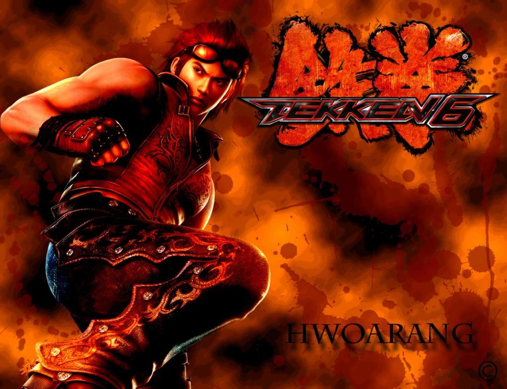 "Wallpaper ""Tekken"" Hwoarang ~ all-desktop.blogspot.com 