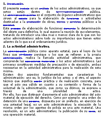Haga CLICK sobre esta imagen para DESCARGAR el documento ACTO ADMINISTRATIVO por GERARDO BENITEZ