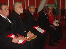 Grãos-Mestres de Todas as Potências Regulares e Maçons do Real Arco, prestigiam Extaltação em Natal