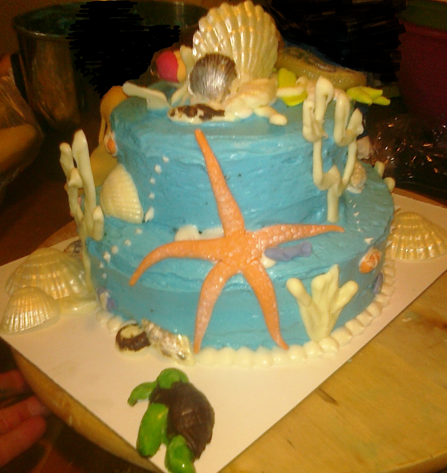 Awesome Cakes by Sarah Under the Sea Baby Shower Cake