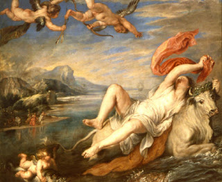 El rapto de Europa, Rubens
