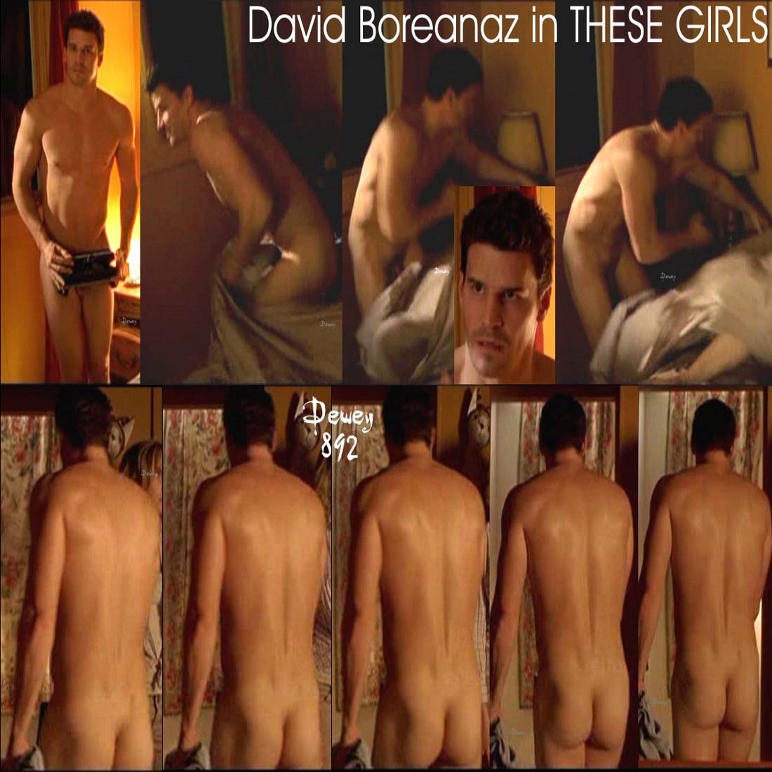 David Boreanaz's Ass & Balls. Posted by Gay Male Exposé at Thursday, ...