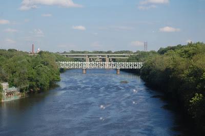 Falls Bridge, East Falls.