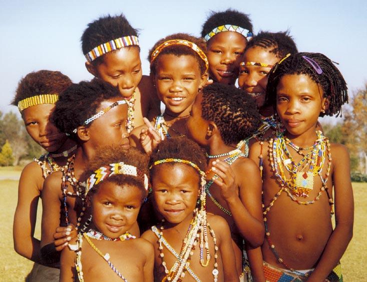 Apa itu suku Bushman Steatopygia Bushman
