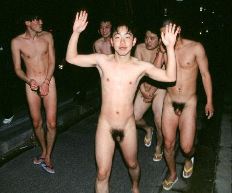 Hot Naked Men Dance And Frolic In The Streets Of - Queerty