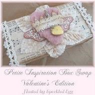 Petite inspirations Valentines swap