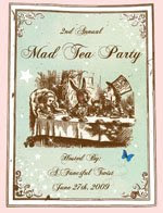Join us JUNE 27 for Mad hatter's tea party