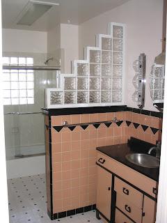 Brooklyn berry designs art deco bathrooms historic homes for Art deco tile designs bathroom