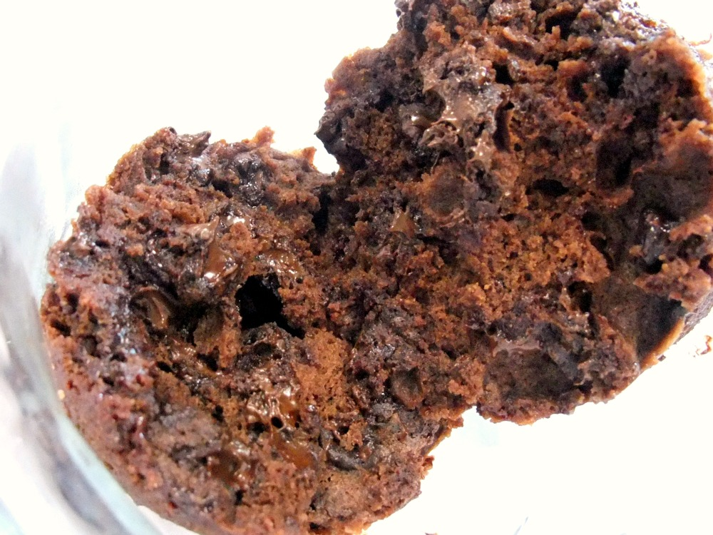 Aunt Peg's Recipe Box: Microwave Chocolate Cake in a Mug