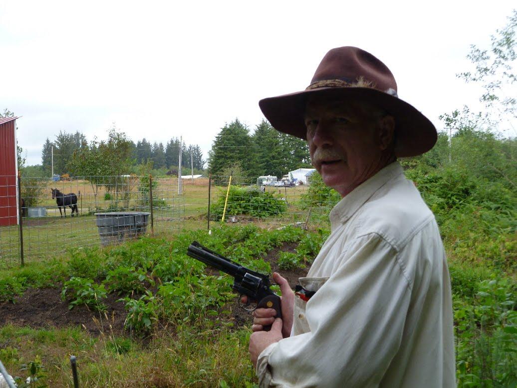 Scott R The Quillayute Cowboy The Garden