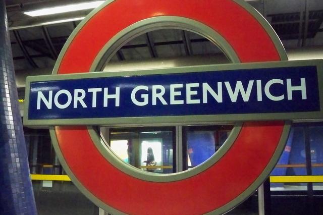 the hopeful traveler north greenwich station at the edge. Black Bedroom Furniture Sets. Home Design Ideas