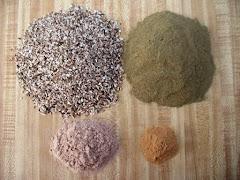 Four Herbs Prepard to Brew