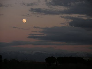 luna a cinecittà