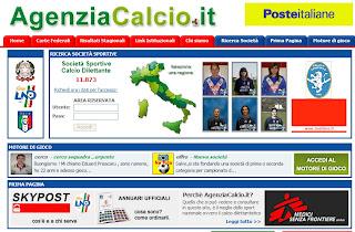 AgenziaCalcio.it, il portale del calcio dilettantistico