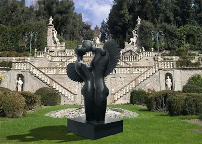 Eugenio Riotto - sculture al Giardino Garzoni