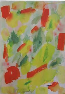 quadro di Antonio Corpora intitolato Giardino