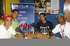 ENTREVISTAS  EN LA MOVIDA JUVENIL POR C.R.P  91.5 FM