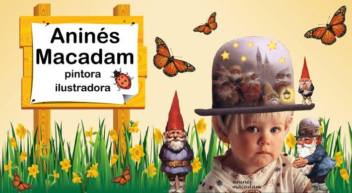 Aninés Macadam - Arte digital