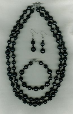 "Black ""Jade"" Set"