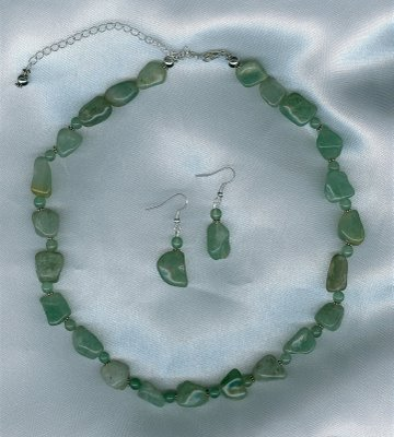 Green Aventurine Set