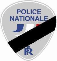Police en deuil