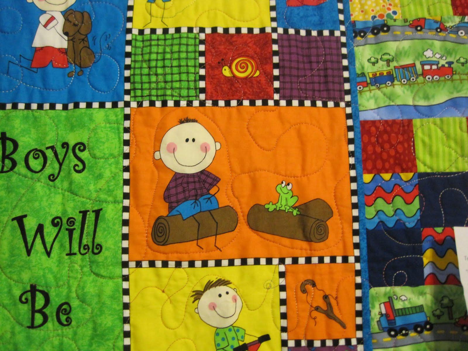 Pieceful Afternoon: Quilt show - part 2 : little boy quilts - Adamdwight.com