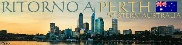 Ritorno a Perth Western Australia