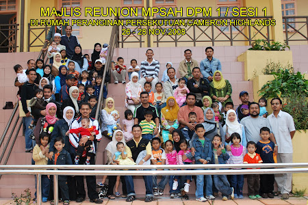 Majlis Reunion MPSAH DPM1 / sesi 1.