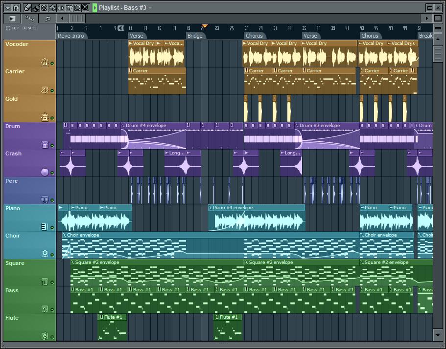 Fl studio как сделать трек