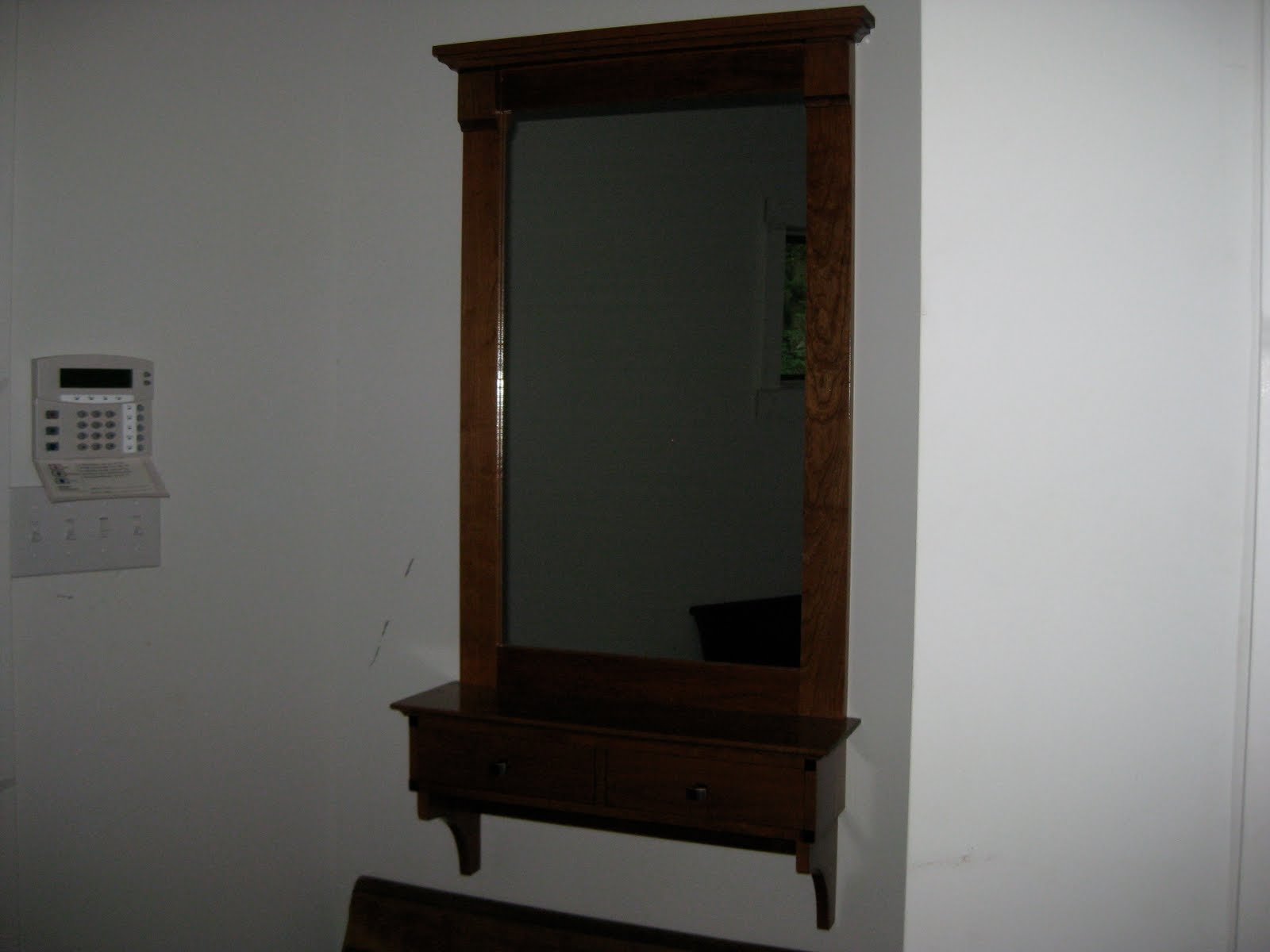 Randgwoodworks Hall Mirror