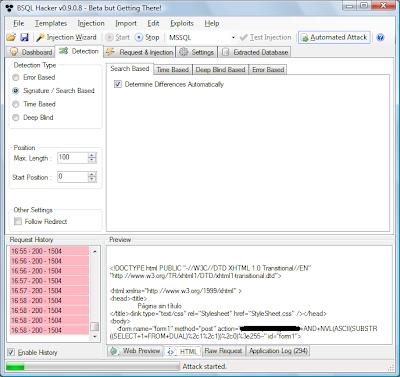 Bsql hacker tool download