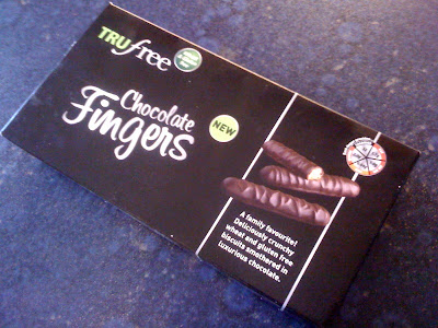adventures of a gluten free globetrekker TruFree Chocolate Fingers Gluten Free News