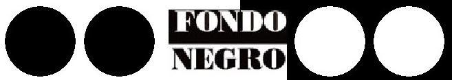 Fondo Negro