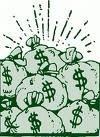 bucks, big, big-money, pay-per-post, bullshit, rich, money-bags, filthy-rick, bad-banks, bailouts, American-people-pay, corruption, dollars, worthless-dollar