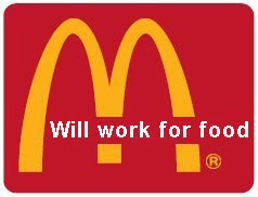 Advertising, Brand Marketing Training, Falling Economy, Mexican American, Recession Profit Strategies, The Job, Will Work For Food