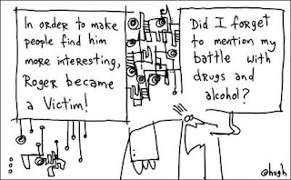 Hugh MacLeod,  Victim, Gapingvoid, Best Reaction, No Reaction, Cartoons