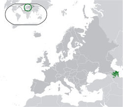 Azerbaijan, Ganja, wild wild east dailies, Russia, Turkey, Iraq, Iran, Georgia, map