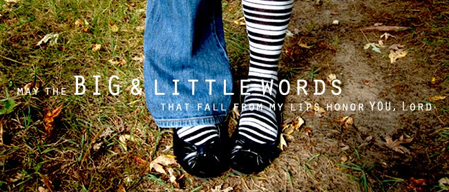 big and little words